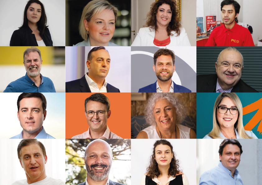 Conheça os candidatos à Prefeitura de Curitiba