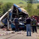 Vídeo mostra local do acidente após tragédia que deixou mais de 40 mortos