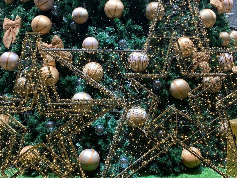 Com Papai Noel em home office, shopping de Londrina inaugura decoração de Natal