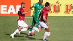 Com gol no último minuto, Paraná perde em casa para o Guarani
