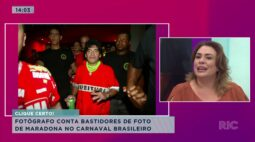 Argentinos se despedem de Maradona que será enterrado perto dos pais