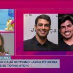 Irmão do ator Cauã Reymond larga medicina veterinária e se torna ator