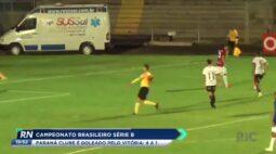 Campeonato Brasileiro série B Paraná Clube é goleado pelo Vitória