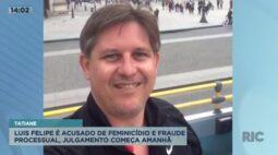 Caso Tatiane: Luis Felipe é acusado de feminicídio e fraude processual