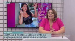 Gusttavo e Andressa assinam divórcio e partilha de bens segue sendo discutida