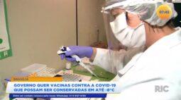 Governo quer vacinas contra a covid 19 que possam ser conservadas em até  8ºC