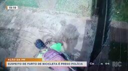 Suspeito de furto de bicicleta é preso