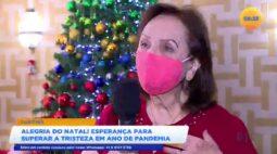 Alegria do natal! esperança para superar a tristeza em ano de pandemia