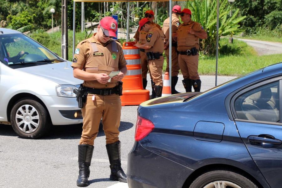 Número de acidentes no Paraná cai pela metade durante feriado de Natal
