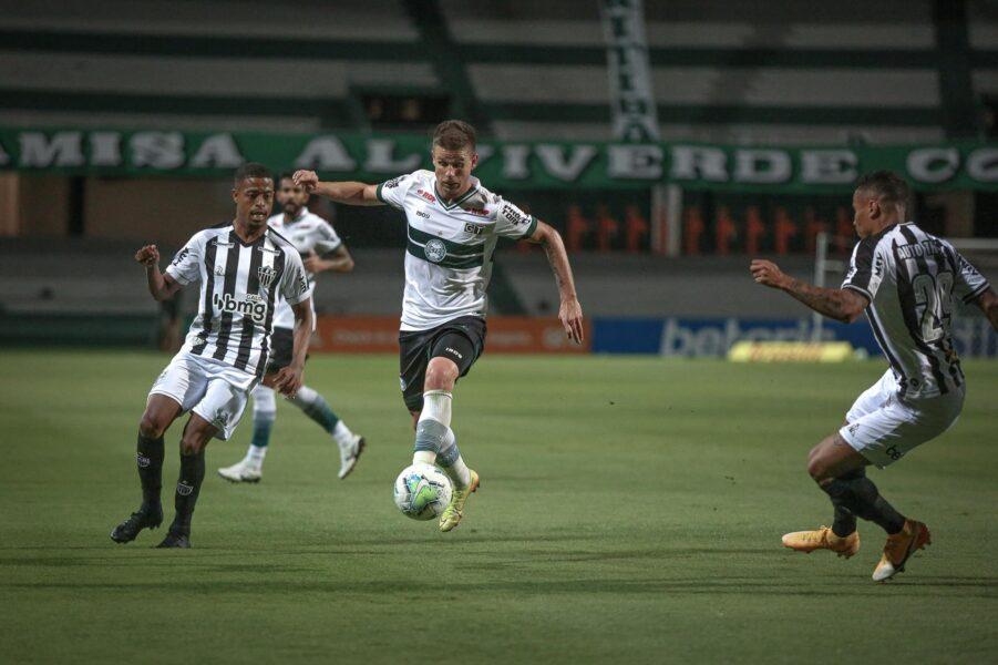 Atlético-MG trabalha para encarar o Coritiba e encerrar 2020 com três pontos