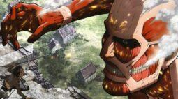 Attack On Titan totalmente dublado em português chega ao Brasil
