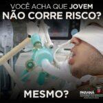 Governo do Paraná usa vídeo para tentar conscientizar sobre importância do isolamento social