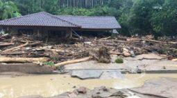 Tragédia em Santa Catarina: chuvas deixam 6 mortos e ao menos 20 desaparecidos
