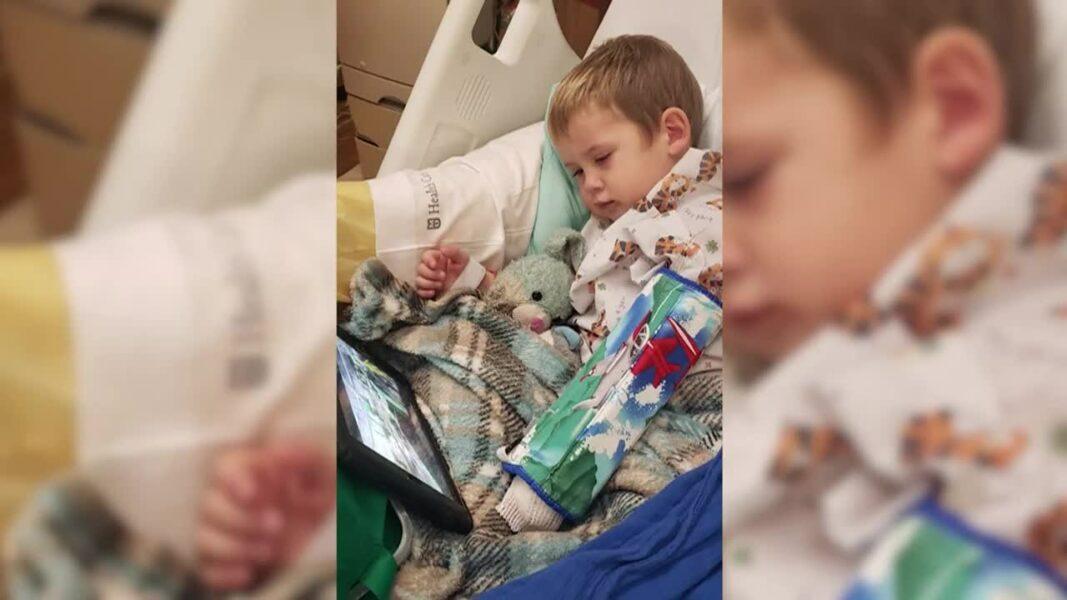 Criança de 3 anos com covid-19 sofre AVC e fica com parte do corpo paralisado