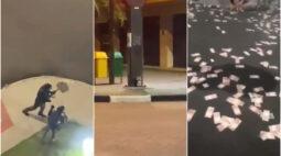 Terror em Criciúma: tiros, bombas, reféns e muito dinheiro espalhado pelas ruas