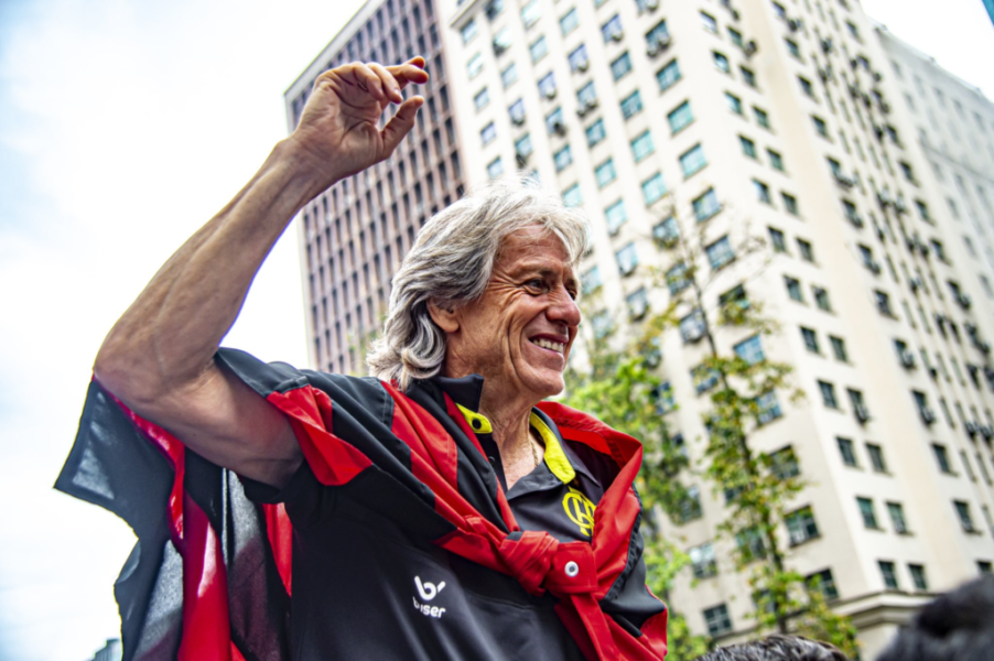 Jorge Jesus diz que o futebol brasileiro é o mais evoluído no mundo