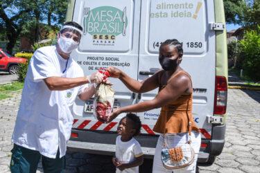 Campanha Mesa Brasil arrecada mais de 743 toneladas de produtos em todo o PR