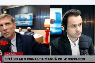 """Fábio Camargo rompe silêncio e diz que quer """"Tirar o tribunal da ilha"""" em nova gestão do TCE-PR"""