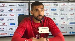 """""""Temos noção da nossa responsabilidade"""", diz goleiro do Paraná"""