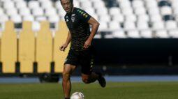 Honda muda discurso e prega apoio ao Botafogo