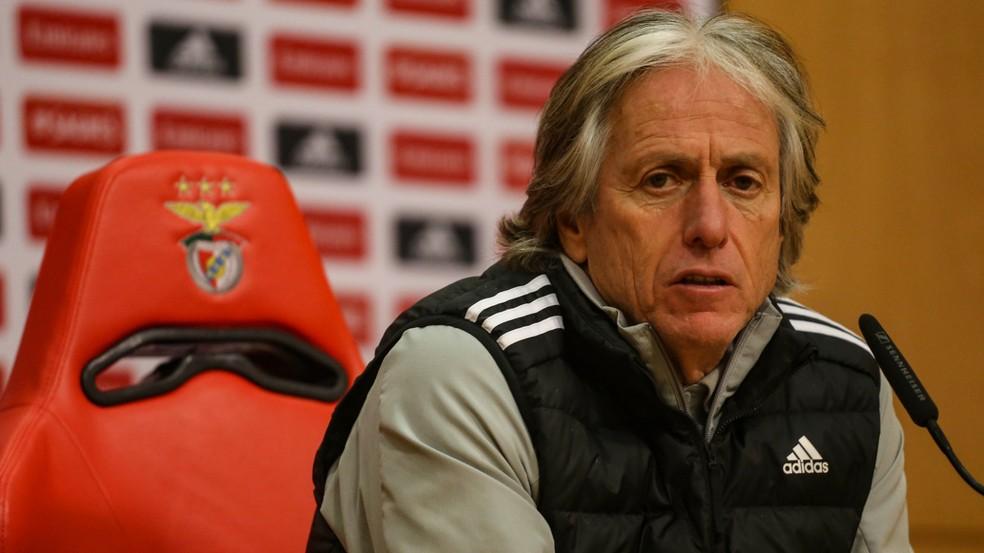 Técnico Jorge Jesus desabafa sobre crise no Benfica