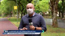 Flagrante de aglomerações em Foz do Iguaçu cidade endurece medidas e impõe multa