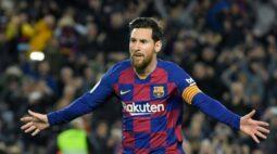 """Diretor do Barcelona diz que teria sido """"desejável"""" vender Messi na última janela de transferências"""