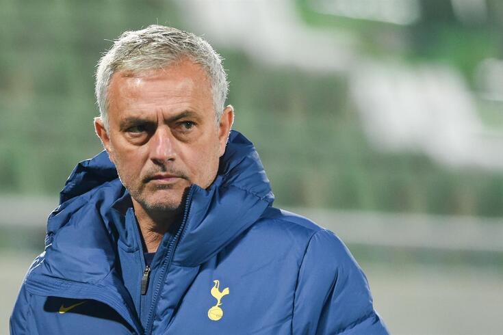 """Mourinho, sobre seu momento no Tottenham: """"Vou ficar na história do clube por bons motivos"""""""