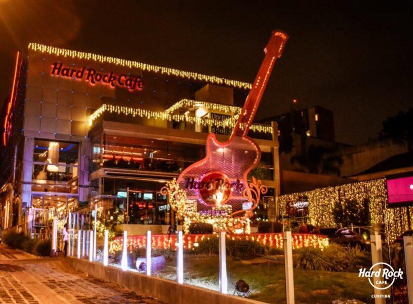Hard Rock Cafe Curitiba terá programação especial de Natal