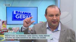 Prefeitura de Maringá abre edital para repor quadro de funcionários na área da saúde