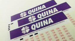 Resultado Quina concurso 5431; veja os números sorteados nesta quarta-feira (02)