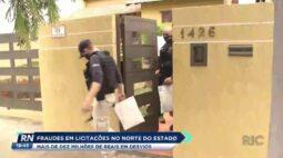 Fraudes em licitações no norte do estado mais de dez milhões de reais em desvios