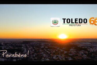 Toledo, cidade labor, completa 68 anos