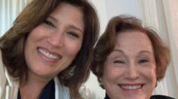 Beth Goulart emociona web com vídeos da mãe falando sobre 'sentido da vida'