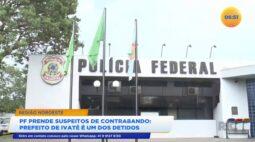 PF prende suspeitos de contrabando prefeito de Ivaté é um dos detidos