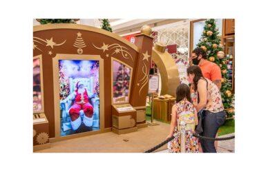 Últimos dias do Papai Noel virtual no Catuaí Shopping em Londrina
