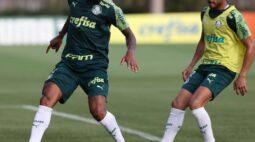 Abel Ferreira comanda treino técnico antes do clássico contra Corinthians
