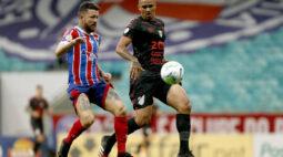 Técnico Dado Cavalcanti comenta alívio com vitória do Bahia sobre o Athletico-PR