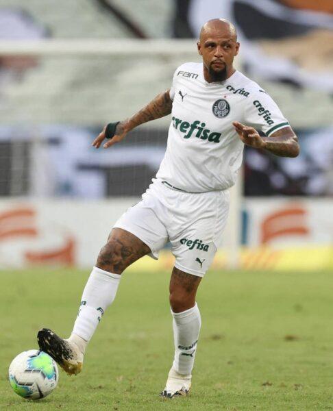 Felipe Melo retorna ao Palmeiras, mas ainda tem presença incerta na Libertadores