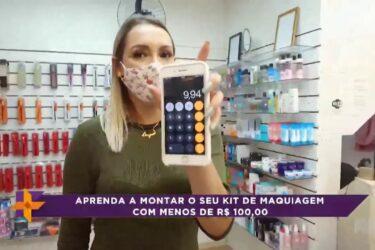 Aprenda como montar o seu kit de maquiagem com menos de R$ 100,00