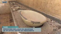 Moradores reclamam de abandono de um antigo centro de treinamento em Toledo