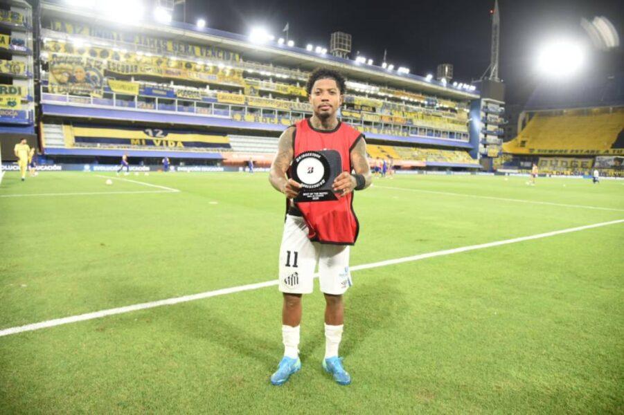 Marinho sonha em jogar Mundial, mas reafirma foco do Santos na final da Libertadores