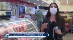 Paraná aumenta exportações de carne e consumo interno também deve crescer em 2021