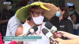 Índio quer vacina: começou a vacinação contra covid-19 na Reserva Apucaraninha em Tamarana