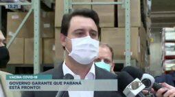 Vacina covid-19: governo garante que Paraná está pronto