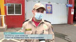 Alerta: golpistas usam nome do corpo de bombeiros para tirar dinheiro