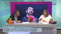 """Hino atemporal: confira alguns famosos que cantaram """"evidências"""" de Chitãozinho e Xororó"""