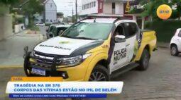 Tragédia na BR 376 corpos das vítimas estão no IML de Belém