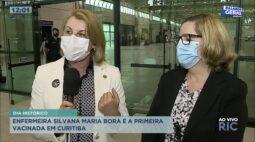 Curitiba em momento histórico com o início da vacinação contra a COVID-19