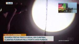 Guarda Municipal fecha festa ilegal em Curitiba; clientes fugiram pela porta dos fundos